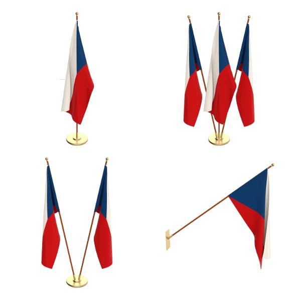 Czech Republic Flag Pack