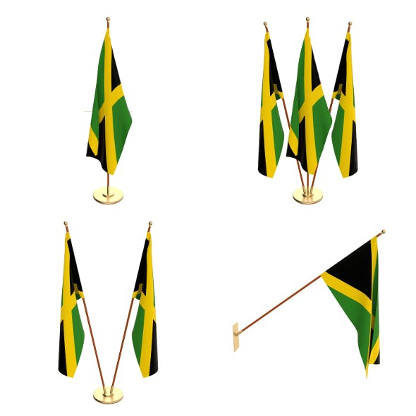 Jamaica Flag Pack - 3DOcean Item for Sale