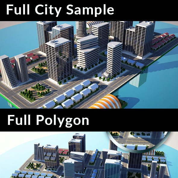Full City Sample - City Models