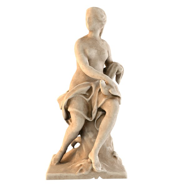 STATUE OF COLOMBE - 3DOcean Item for Sale