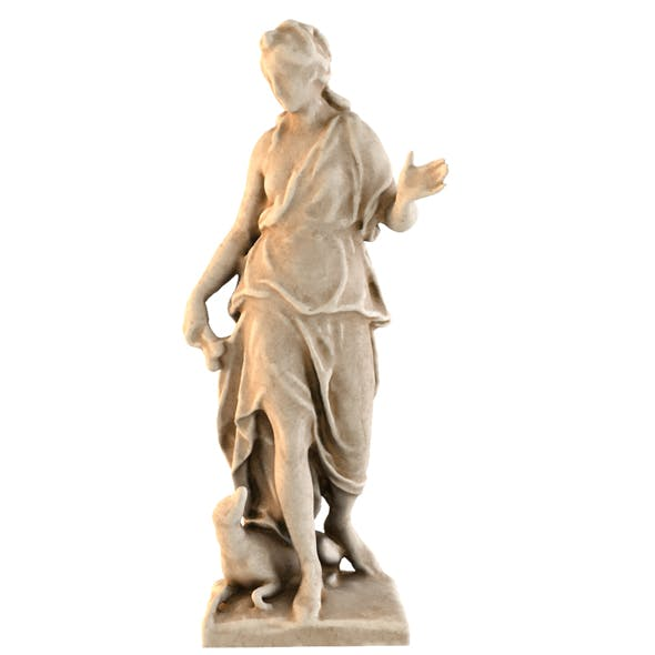 STATUE OF DIANE 5 - 3DOcean Item for Sale