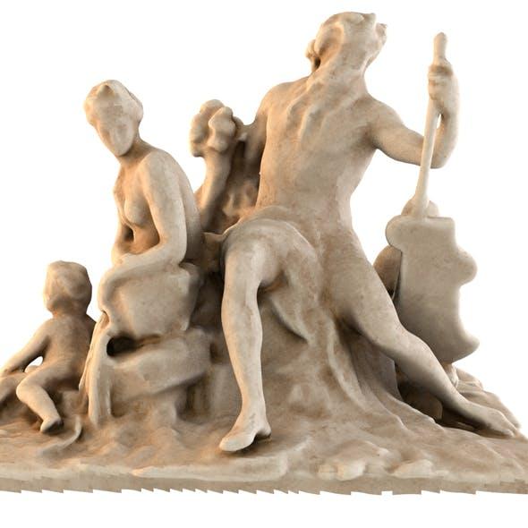 STATUE OF LOIRE - 3DOcean Item for Sale