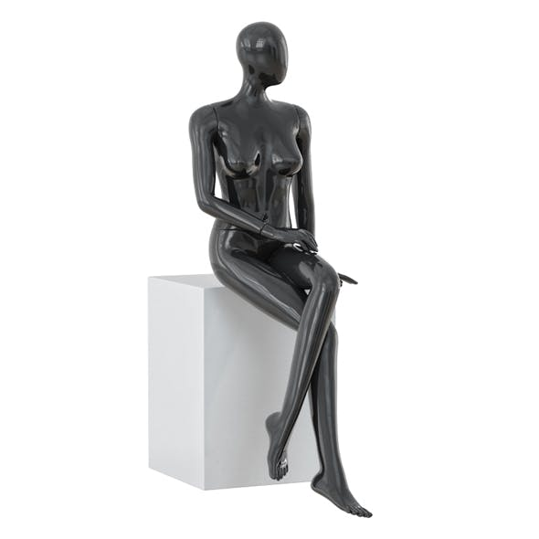 Abstract female mannequin 15 - 3DOcean Item for Sale