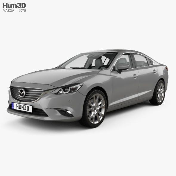 Mazda 6 GJ sedan with HQ interior 2015 - 3DOcean Item for Sale