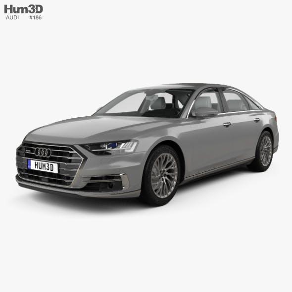 Audi A8 (D5) L with HQ interior 2018
