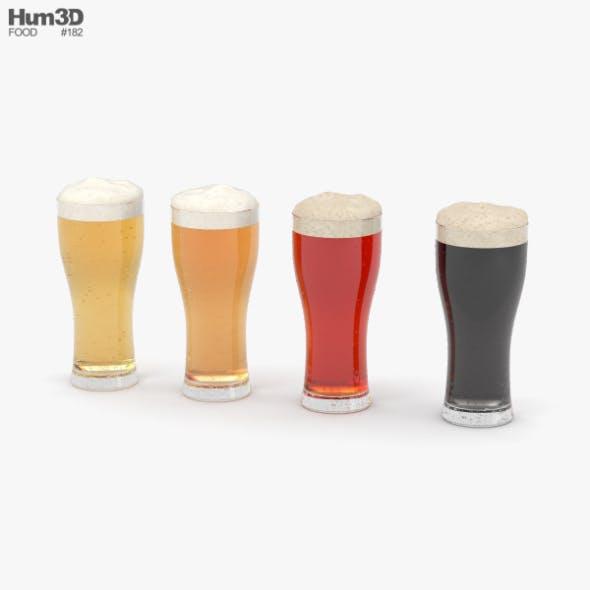 Beer Weizen Glass - 3DOcean Item for Sale