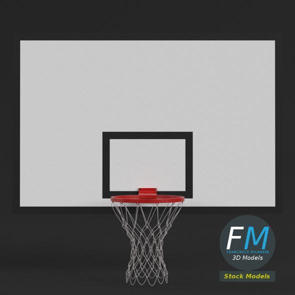 Basketball backboard - 3DOcean Item for Sale