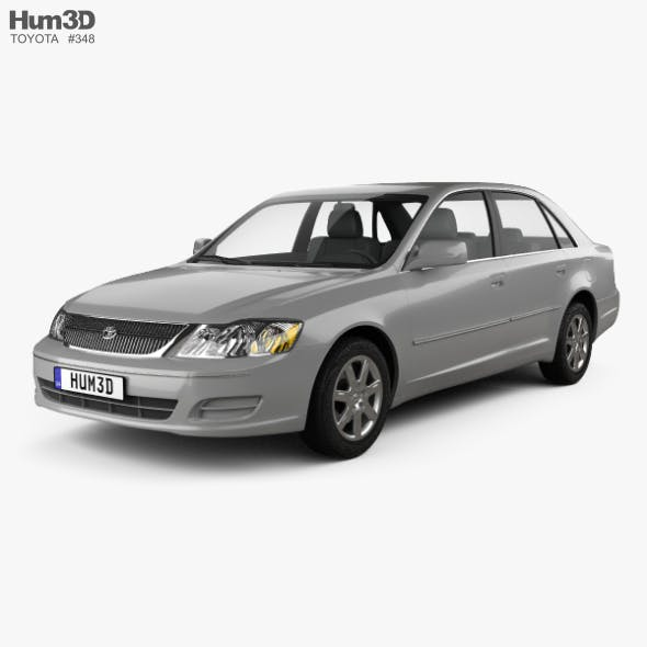 Toyota Avalon XL 2001 - 3DOcean Item for Sale