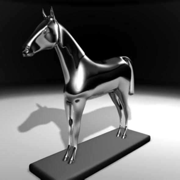horse ornamental - 3DOcean Item for Sale