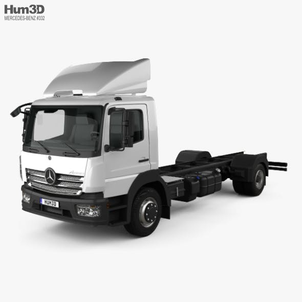Mercedes-Benz Atego (1530) M-Cab Chassis Truck 2013 - 3DOcean Item for Sale