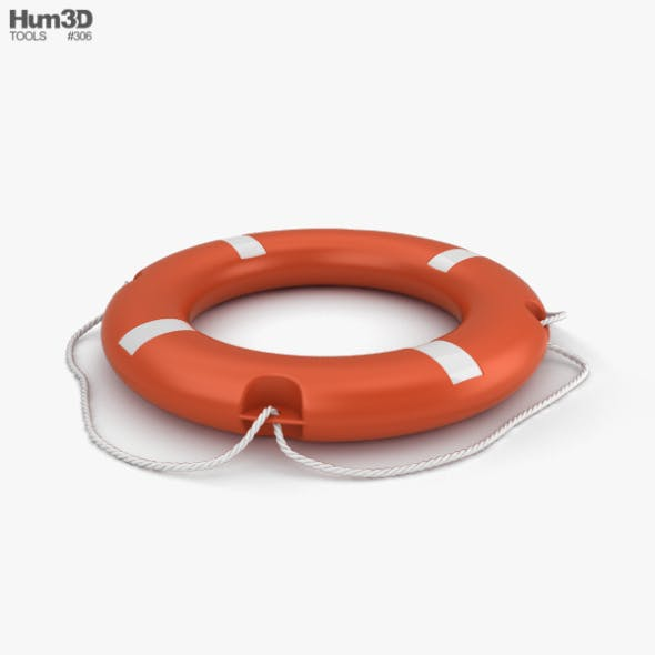 Lifebuoy - 3DOcean Item for Sale