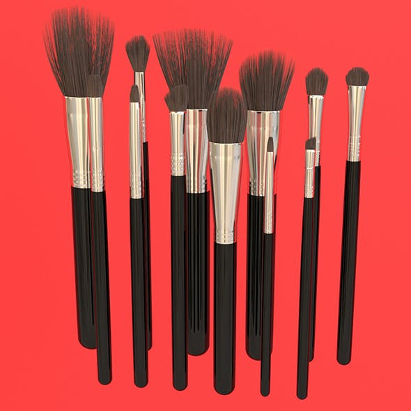 Brush Set 2 12 Pieces
