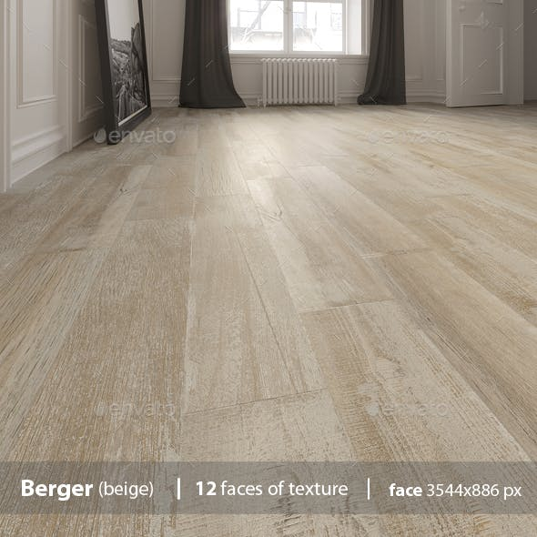 Berger beige Floor Tile - 3DOcean Item for Sale
