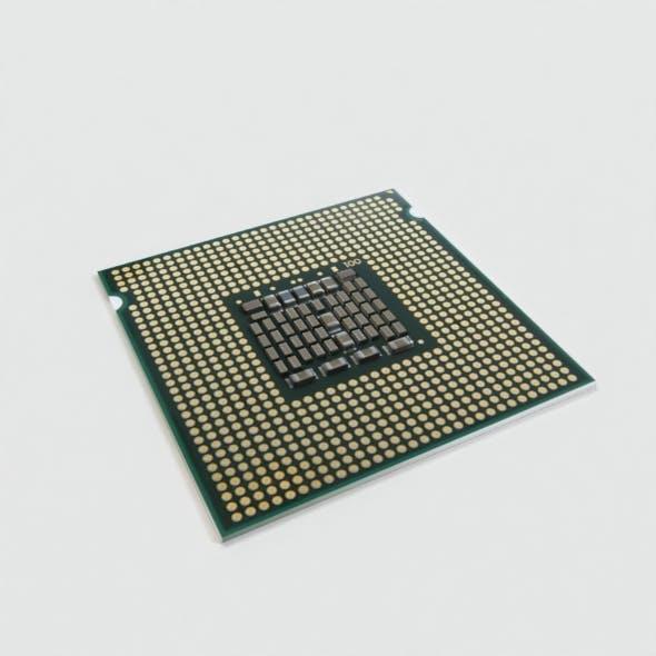 Desktop CPU 3D Model - 3DOcean Item for Sale