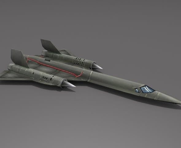 SR-71 Blackbird - 3DOcean Item for Sale