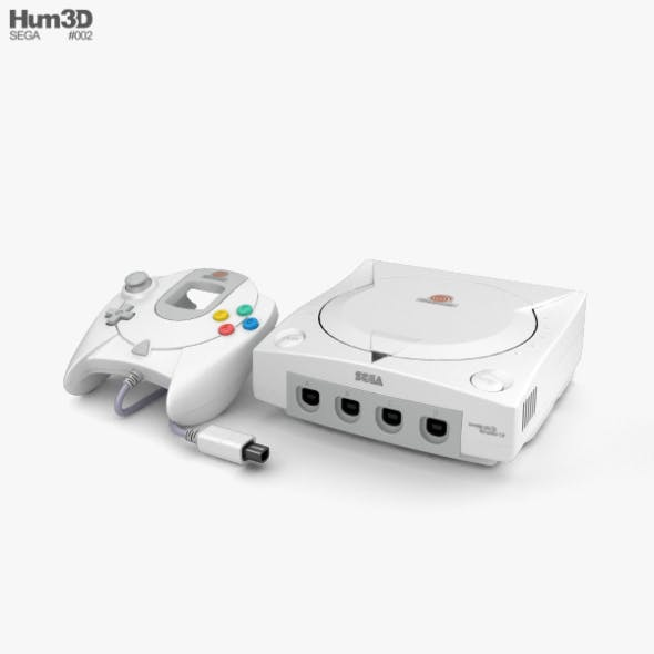 SEGA Dreamcast - 3DOcean Item for Sale