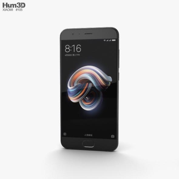 Xiaomi Mi Note 3 Black - 3DOcean Item for Sale