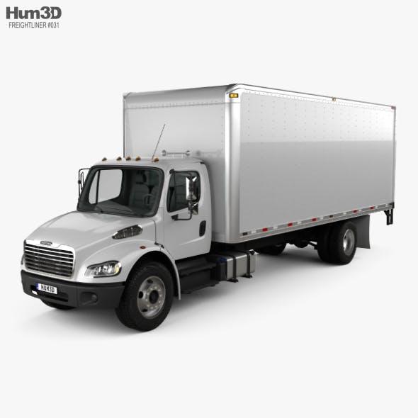 Freightliner M2 106 Box Truck 2012 - 3DOcean Item for Sale