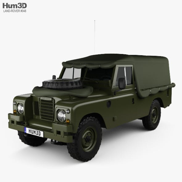 Land Rover Series III LWB Military FFR 1985 - 3DOcean Item for Sale
