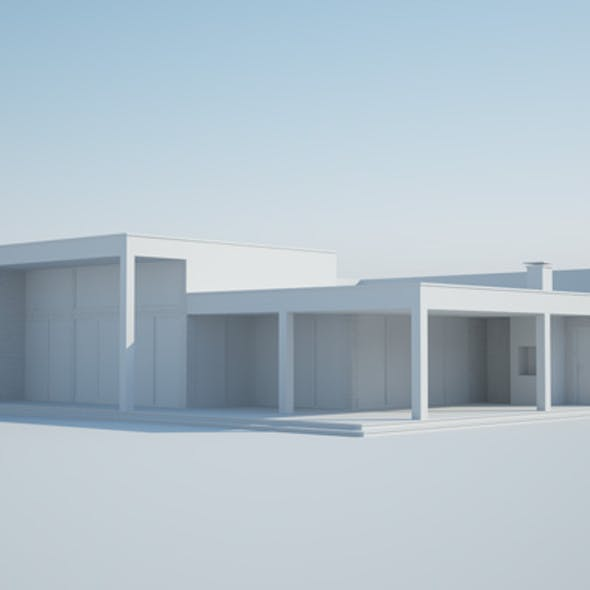 Cinema 4d and vray 3.7 exterior render setups