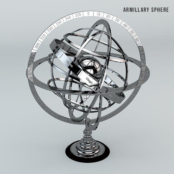 Armillary sphere - 3DOcean Item for Sale