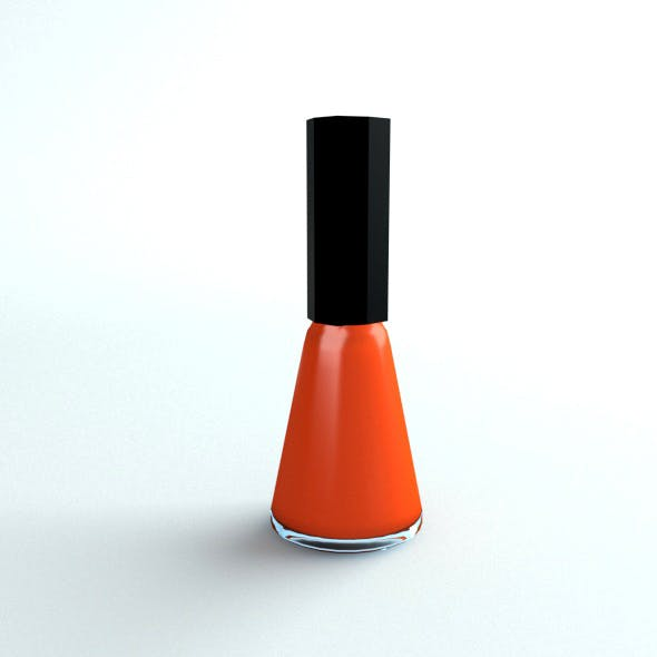 Nail Polish - 3DOcean Item for Sale