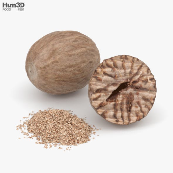 Nutmeg - 3DOcean Item for Sale
