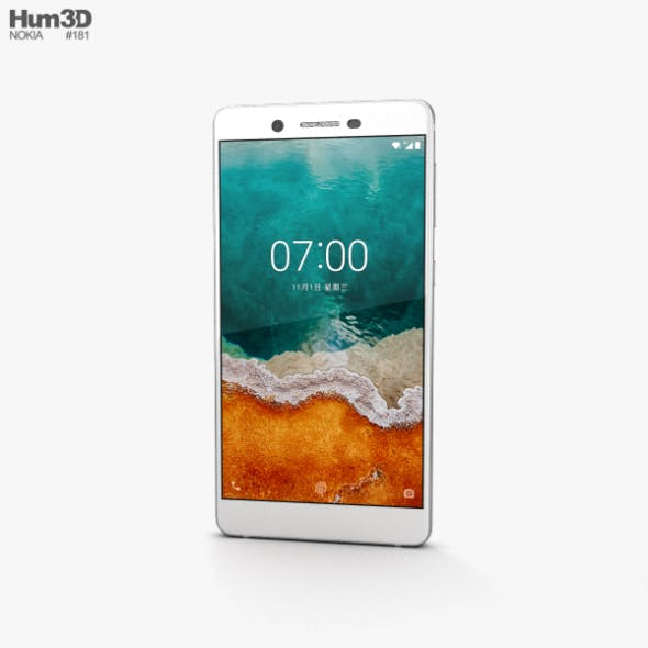 Nokia 7 Matt White - 3DOcean Item for Sale