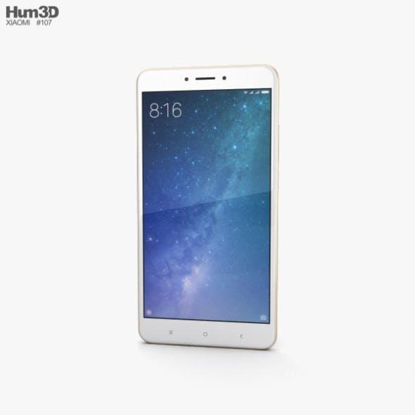 Xiaomi Mi Max 2 Gold - 3DOcean Item for Sale