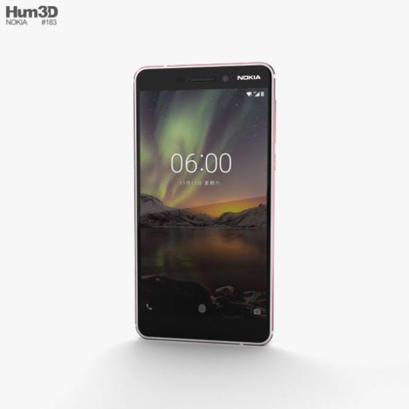 Nokia 6 (2018) Silver