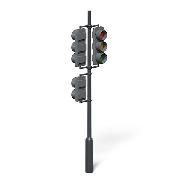 Traffic Lights 3D Model - 3DOcean Item for Sale