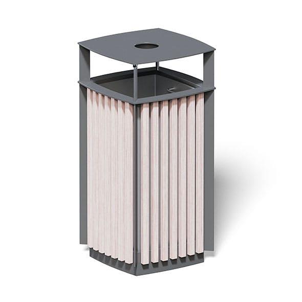 Trash Bin 3D Model - 3DOcean Item for Sale