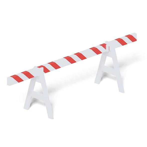 Crash Barrier 3D Model - 3DOcean Item for Sale
