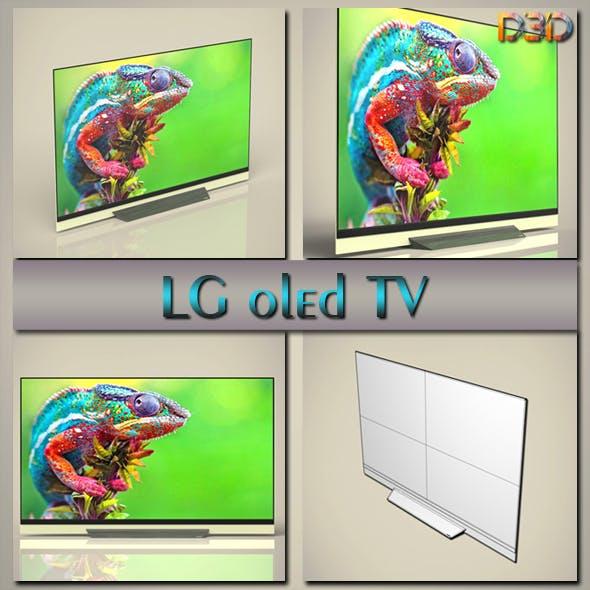 LG oled TV - 3DOcean Item for Sale