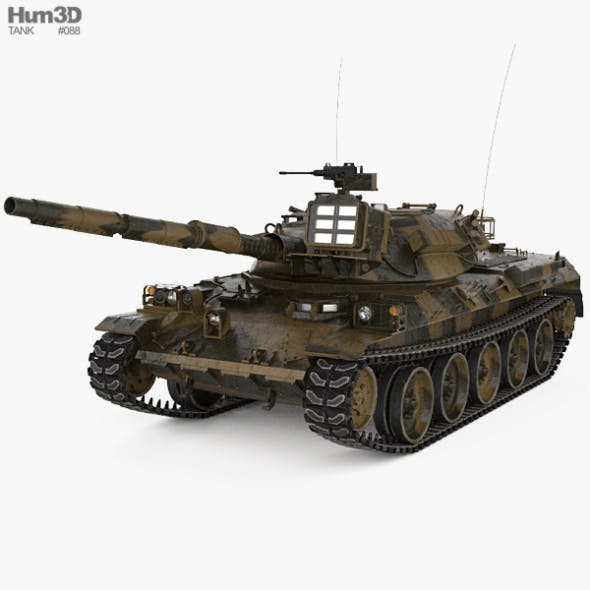 Type 74 - 3DOcean Item for Sale