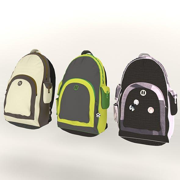 Backpack UniDesign - 3DOcean Item for Sale