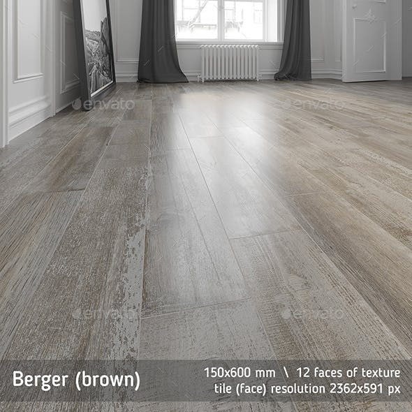 Bereger brown floor tile by Golden Tile