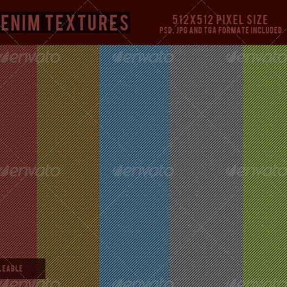 Denim Textures - 1