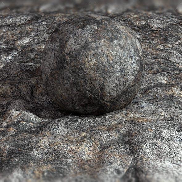 Scanned Rock Texture - Grey Boulder - 3DOcean Item for Sale