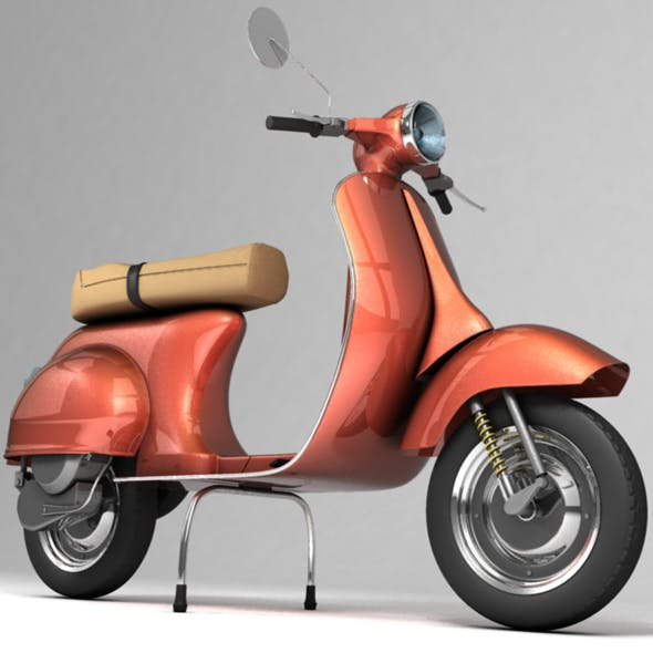 Vespa Ready For Render