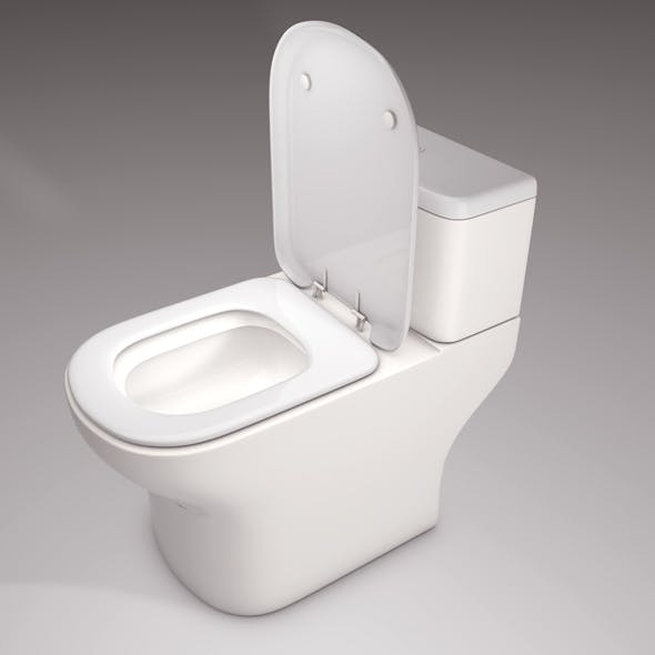 Commode Latrine - 3DOcean Item for Sale
