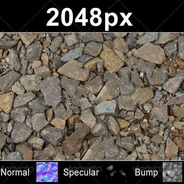 Gravel Stone 01 - Set