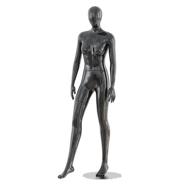Abstract female mannequin 19 - 3DOcean Item for Sale