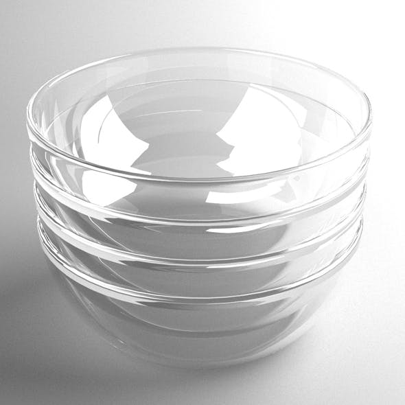 Glass Bowl - 3DOcean Item for Sale