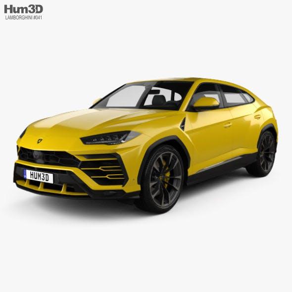 Lamborghini Urus 2019 - 3DOcean Item for Sale