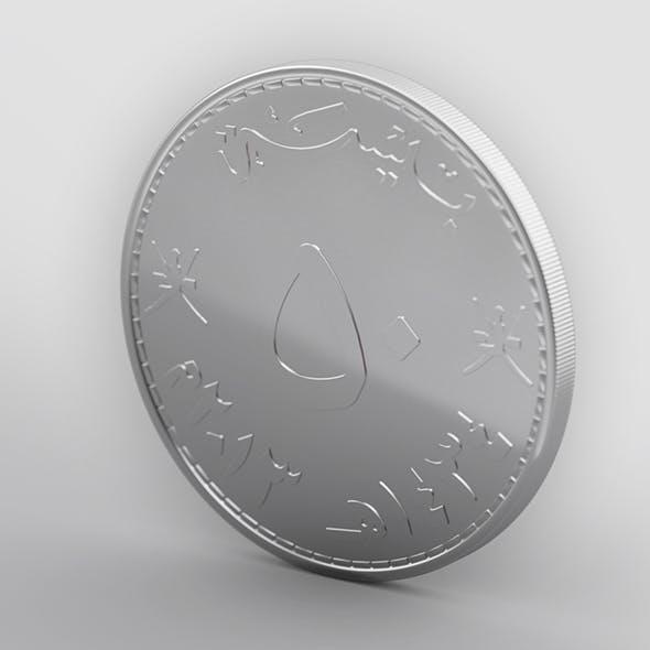 50 baisa - 3DOcean Item for Sale