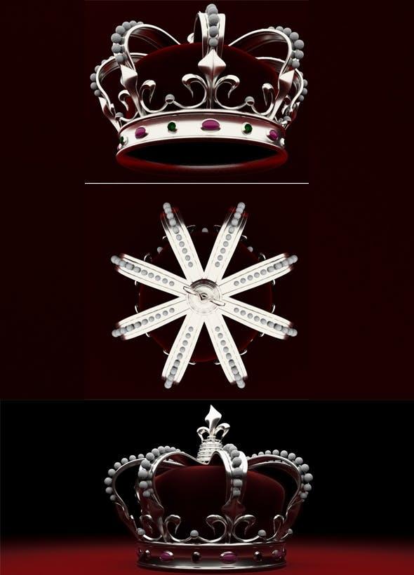 Crown - 3DOcean Item for Sale