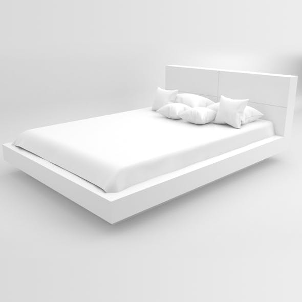 Bed 03 - 3DOcean Item for Sale