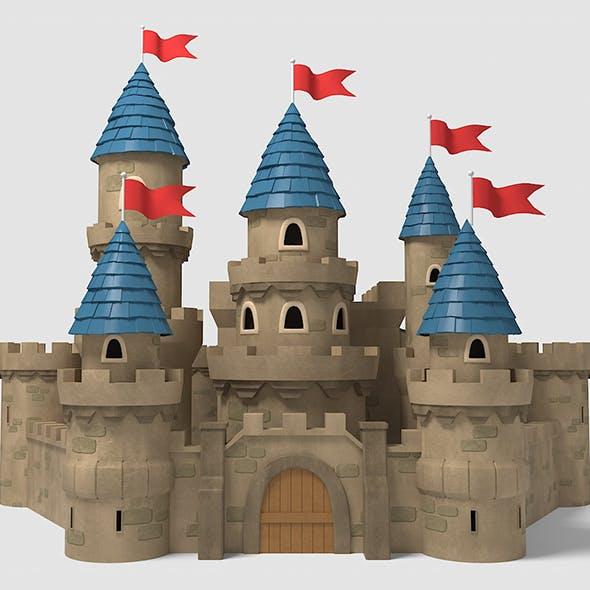 Castle cartoon