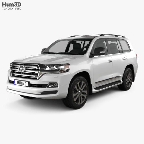 Toyota Land Cruiser Excalibur 2017 - 3DOcean Item for Sale